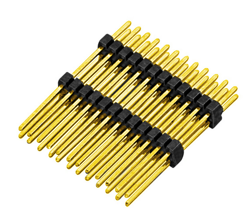PH1.0mm Pin Header H=1.0mm Dual Row Straight Type