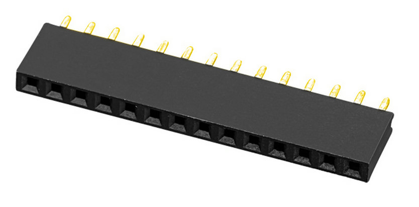 PH2.0mm H=6.35mm Female Header Y-type Single Row Straight Type Board to Board Connector