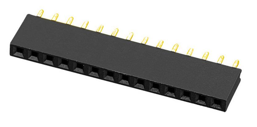 板对板 排母 PH2.0 单塑  H=6.35 Y型  直线型 连接器