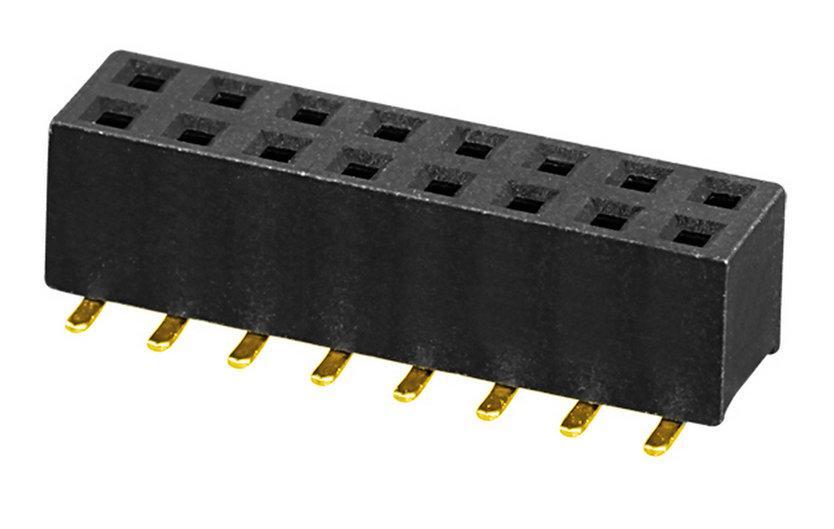 板对板 排母 PH2.0 双排 H=2.0,4.0,4.3,4.6,7.2 U型  SMT 型  连接器