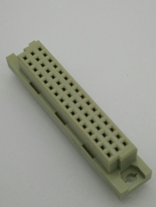 PH2.54mm DIN 41612 Female Three-row Straight Type