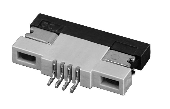 PH0.5mm FPC, H=1.2mm 下接型  FPC 连接器