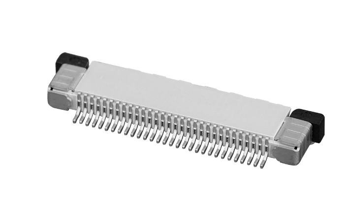 PH0.5mm FPC, H=2.0mm 上接型  FPC 连接器