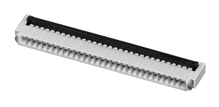 PH0.5mm FPC, H=1.0mm 后掀盖  FPC 连接器