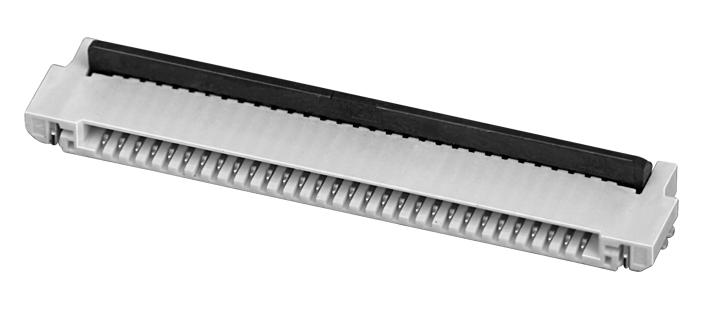 PH0.5mm FPC, H=1.2mm 后掀盖 FPC 连接器