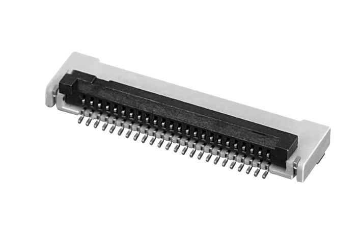 PH0.5mm FPC, H=1.5mm 后掀盖  FPC 连接器