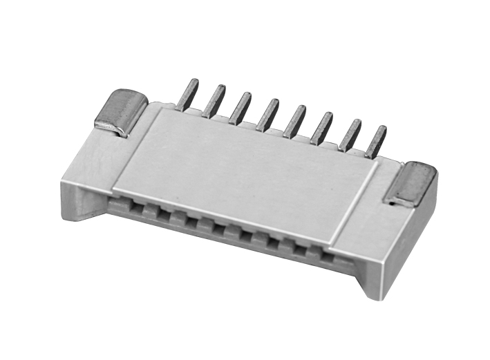 PH1.0mm FPC, double-sided contact type horizontal type FPC connecto