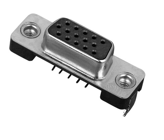 VGA15P  H5.9mm沉救式 连接器