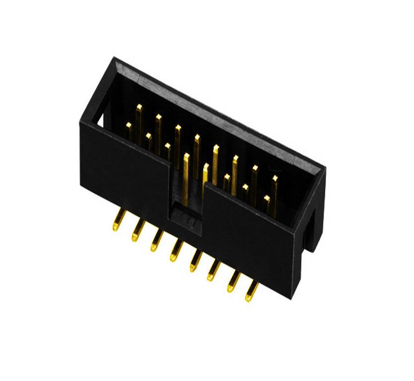 线对板 PH2.54 简牛  SMT 型 连接器 牛角