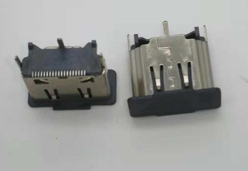 HDMIAF-X 180°SMT H13.0 覆盖 连接器