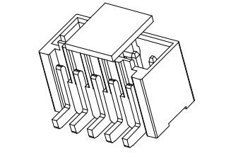 L1504立式贴片-XX-F4MB1-R-X 连接器