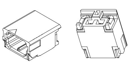 L1801卧式贴片-02-F4MA1-R 连接器