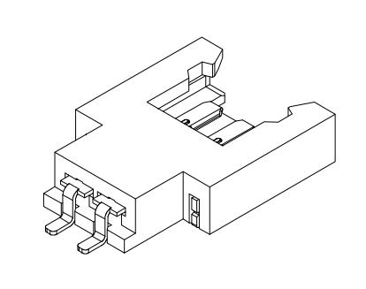 L2007卧式贴片-XX-F3MB1-R 连接器