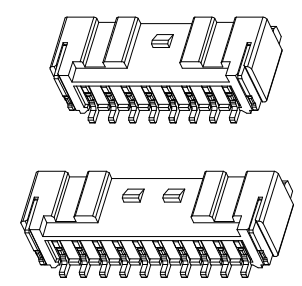 L2008卧式贴片-XX-C1CA3-R 连接器