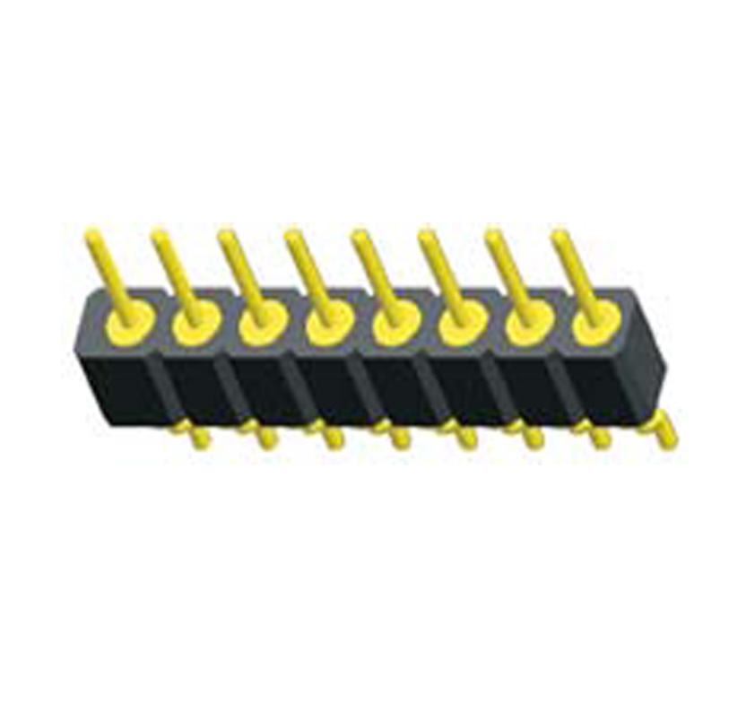 L487XX-97XXX 排针圆孔型PH2.0X2.8 单排  卧贴