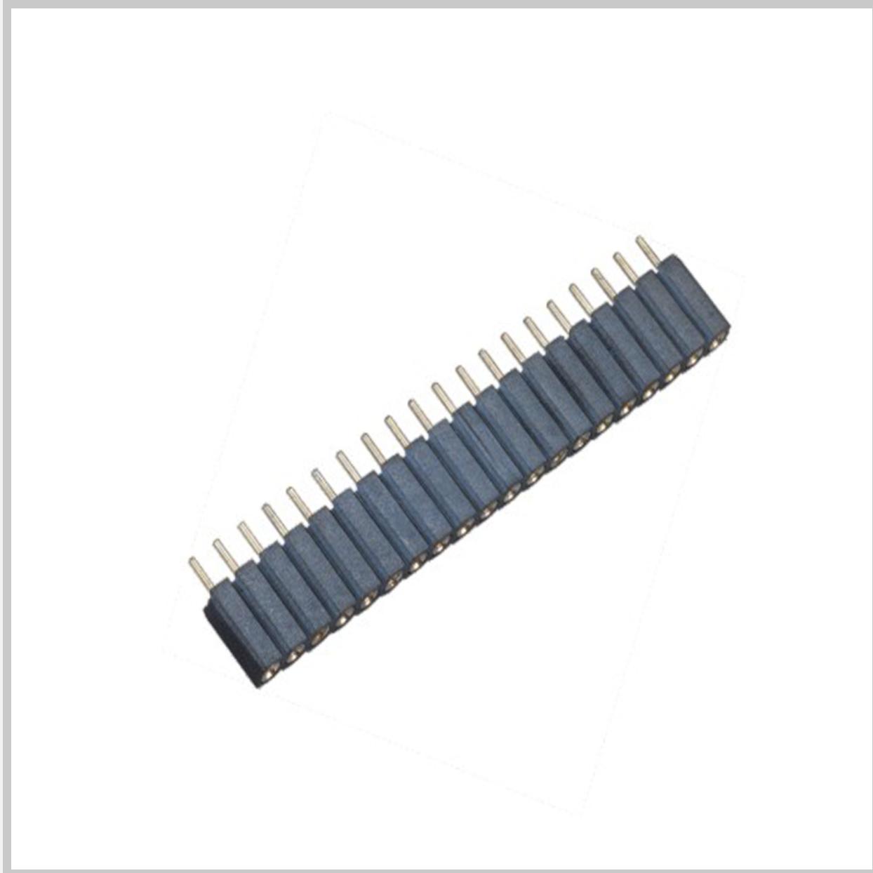 L488XX-97XXX 排母圆孔型-J PH2.0X2.8 单排 卧贴