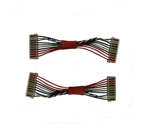JST SUR-32S 0.8MM间距刺破式端子线 国产0.8刺破式端子线6P双头接