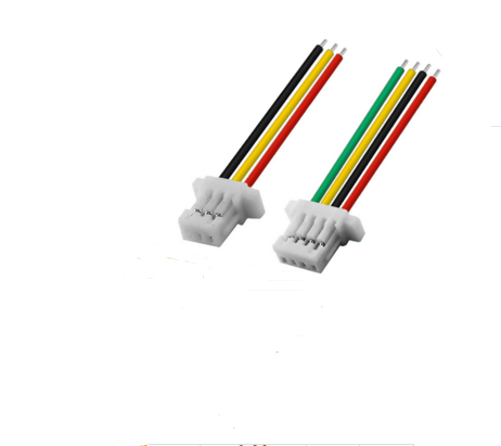 SH 1.0mm端子线材 4P指纹锁用连接线束
