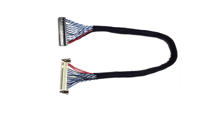 FI-X 30PIN线束 LVDS线束